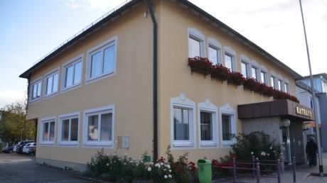 Das Rathaus in Bellenberg.