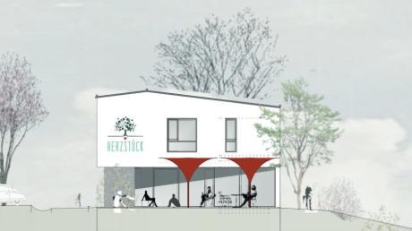 In Welden soll ein neuer Dorfladen entstehen. So könnte er aussehen.