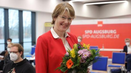 Die Bundestagsabgeordnete Ulrike Bahr tritt bei der Wahl im September als SPD-Direktkandidatin im Wahlkreis Augsburg/Königsbrunn an.