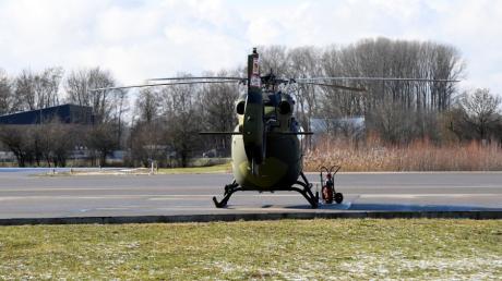 Anwohner beschweren sich  über die Zunahme an Hubschrauber-Flügen am Flughafen Augsburg. Das Unternehmen Airbus Helicopters weitet sein Angebot aus.
