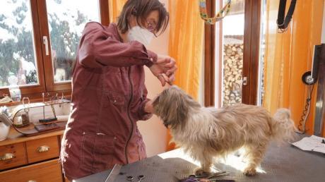 Christine Würth darf ihren Hundesalon in Hollenbach wieder öffnen.