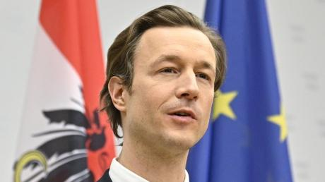 Gernot Blümel ÖVP, Finanzminister von Österreich, ist ins Visier der Staatsanwaltschaft geraten.