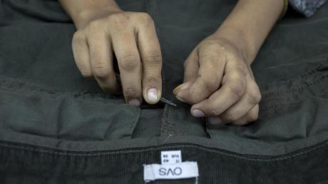 Das Lieferkettengesetz soll die Menschenrechte auch in der Textilindustrie sichern.