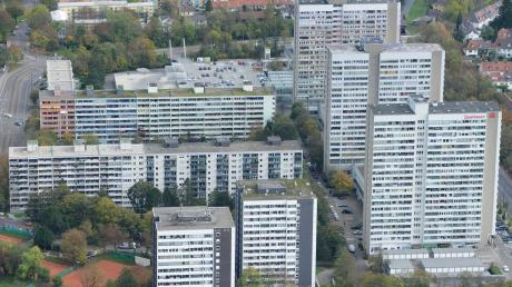 Das Schwabencenter in Augsburg: Hier wurde in den 1970er Jahren stark verdichtet gebaut.