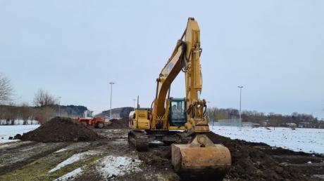 In Kissing wird neben der Paartalhalle eine neue Kindertagesstätte errichtet. Das ist nur eines von vielen teuren Projekten.