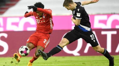 Knappes Ding: Müncen und Bielefeld trennen sich Unentschieden.