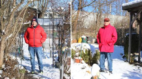 Steffi Huber (links) wohnt im Herrenbach, Henry Ostberg (rechts) im Spickel. Die Stadtteile trennen nur wenige Meter - trotzdem sind sie sehr gegensätzlich.