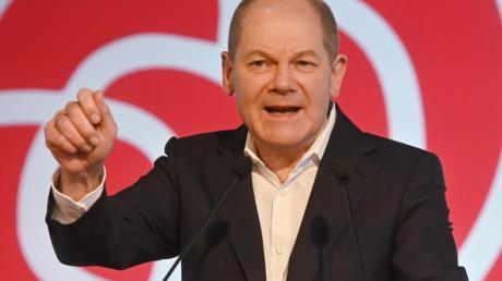 Olaf Scholz (SPD) will Kanzler werden.