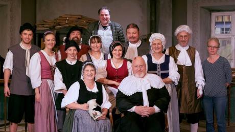 """Die Theatergruppe Ottmaring war zuletzt mit dem Klassiker """"Der zerbrochene Krug"""" erfolgreich. Ob es auch heuer eine Aufführung gibt, ist noch offen."""