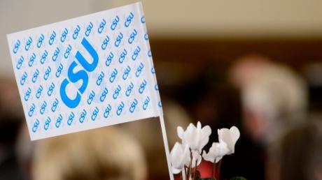 Wer am Ende die Fahne für die CSU im Bundeswahlkreis Neu-Ulm hochhebt, wird am 30. April entschieden. Für den Posten des Direktkandidaten gibt es zwei Bewerber.