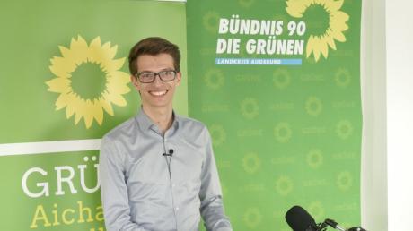 Stefan Lindauer aus Todtenweis wurde bei der digitalen Nominierungsveranstaltung seiner Partei mit großer Mehrheit zum Bundestagsdirektkandidaten der Grünen gewählt.