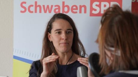 Heike Heubach aus Stadtbergen ist bei der SPD für die Bundestagswahl nominiert.