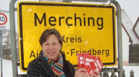 Die in Merching wohnhafte Autorin Angela Eßer hat sich seit jeher dem Krimi verschrieben und wird dafür mit dem Ehren-Glauser ausgezeichnet.