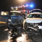 Bei Baldingen ist es am frühen Samstagmorgen zu einem schweren Verkehrsunfall gekommen.