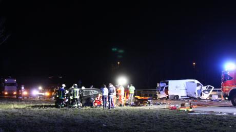 Insgesamt drei Unfälle haben sich fast zeitgleich auf der A9 bei Ingolstadt ereignet.