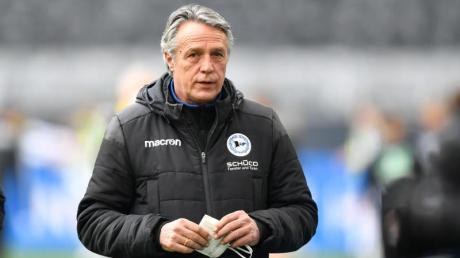 Ist Medienberichten zufolge nicht mehr Trainer von Arminia Bielefeld: Uwe Neuhaus.
