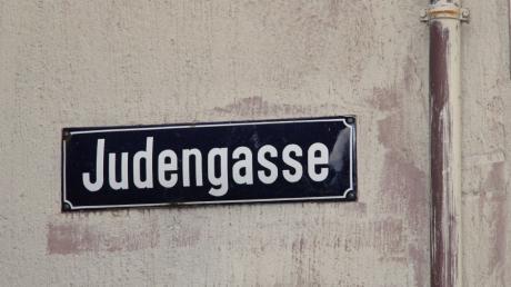 In  Babenhausen gibt es eine Judengasse.