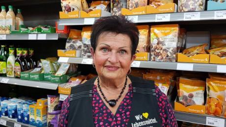 Nach 25 Jahren verabschiedet sich Barbara Kehr, Inhaberin des Nah-und-Gut-Marktes in Leitershofen, von ihren treuen Kunden.