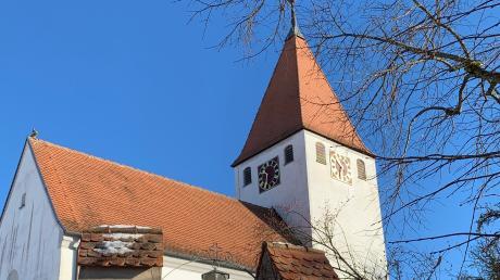 Die St. Nikolaus-Kirche in Dornstadt.