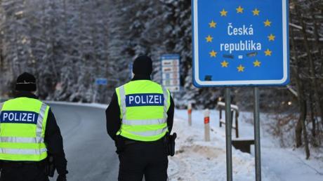 An der bayerisch-tschechischen Grenze hatte die Bundesregierung Kontrollen eingeführt.