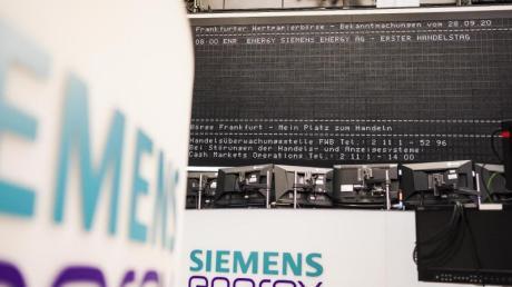 Siemens Energy steigt in den Dax auf.
