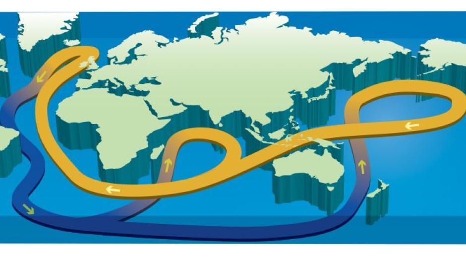 Der Golfstrom ist für die Stabilität des heutigen Klimas entscheidend.