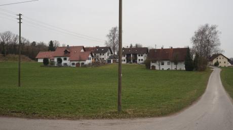 Hier soll in Gallenbach Bauland ausgewiesen werden, wenn der Stadtrat zustimmt.