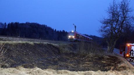 Es war der dritte Brand innerhalb kurzer Zeit am Kellmünzer Bahndamm.