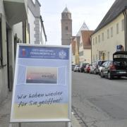 Ab Montag können Geschäfte im Landkreis Donau-Ries wieder öffnen.