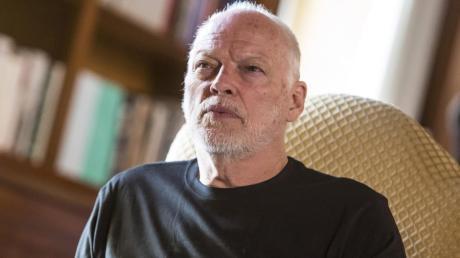David Gilmour, Gitarrist von Pink Floyd, wird 75 Jahre alt.