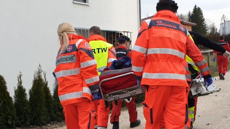Brand in Günzburg: Frau ist lebensgefährlich verletzt