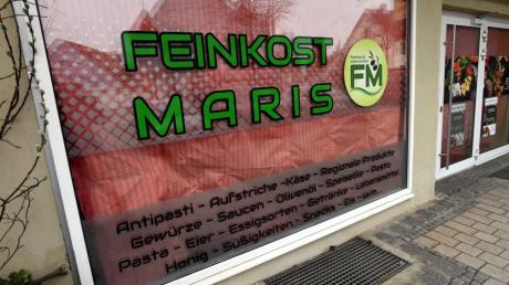 In Steppach öffnet Feinkost Maris in der Ulmer Straße.