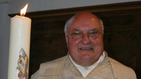 Pfarrer Karlheinz Reichhart ist tot. Reichhart war über 40 Jahre Pfarrer in der Gemeinde St. Martin in Horgau und Pfarradministrator von St. Andreas in Biburg