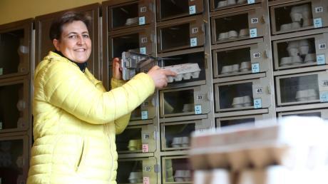 Auch der Kreisbäuerin Christiane Ade kennt das leidige Thema: Manche Kunden missbrauchen das Vertrauen von Automatenbetreibern.