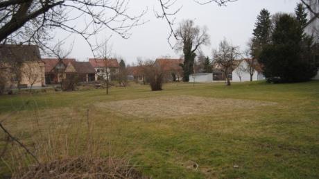 Der Pfarrgarten in Wehringen soll ein öffentlicher Park für alle Generationen werden.