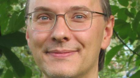 Dr. Fabian Kolbinger ist der Nachfolger von Pfarrer Martin Gall in Dinkelscherben.