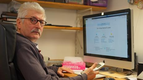 Walter Dosch aus Dasing musste wochenlang auf einen Termin für einen Internetanschluss warten. Stunden verbrachte er in Hotlines. Die Verbraucherzentralen geben Tipps, was Kunden tun können.