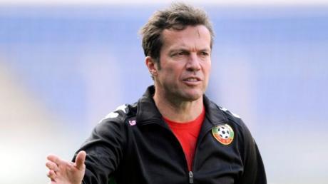 Lothar Matthäus war schon Trainer der bulgarischen Nationalmannschaft