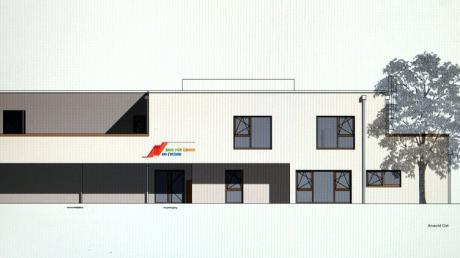 So soll das Haus für Kinder in Meitingen aussehen.