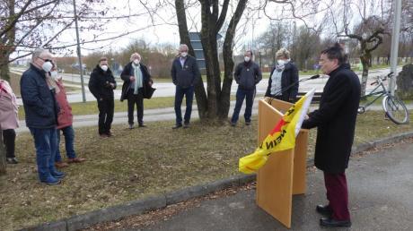 In Stadtbergen fand eine Gedenkfeier des Ortsverbandes des BN zur Reaktorkatastrophe in Fukushima statt.