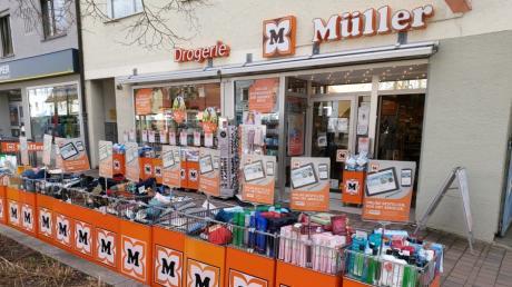 Der Drogeriemarkt Müller in der Friedberger Ludwigstraße soll zum Jahresende schließen.