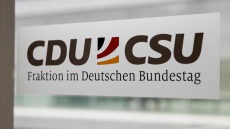 Das Logo der CDU/CSU Fraktion im Bundestag.
