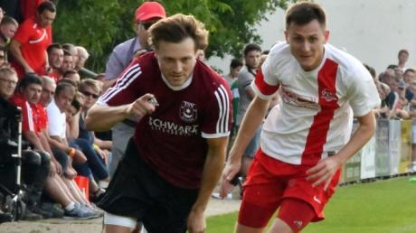 Der neue Trainer des TSV Wolferstadt, Martin Knechtel, hier noch im Trikot des TSV Monheim.