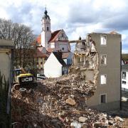 Im Zentrum von Günzburg entsteht neuer Wohnraum.