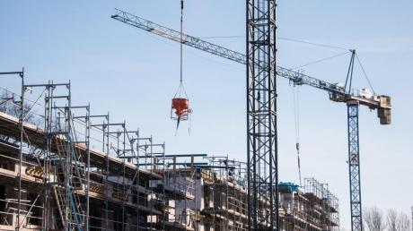 In Günzburg wird weiter kräftig gebaut.