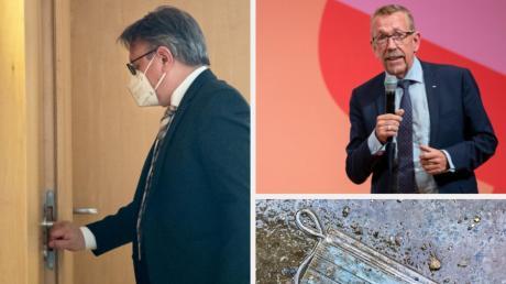 Das wird ein besonderer Bundestagswahlkampf im Kreis Neu-Ulm: Georg Nüßlein wird - in die Maskenaffäre verstrickt - nicht mehr antreten, Karl-Heinz Brunner ist ohne Listenplatz.