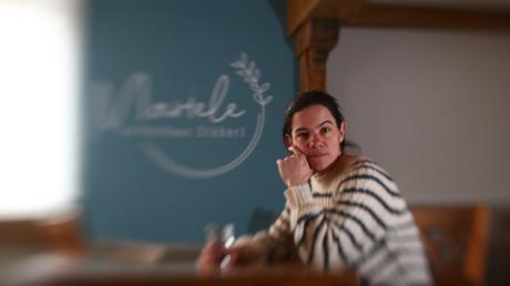 Melanie Börsing, die Wirtin des Mariele in Au, kann manche Corona-Einschränkungen nicht nachvollziehen.