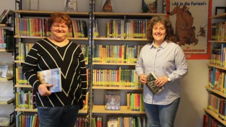 Ulrike Möst (links) und Heidi Mayr übernehmen am 1. April gemeinsam die Leitung der Babenhauser Bücherei.