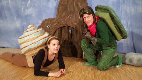 Im Haus der Familie in Stadtbergen gab es ein Online-Kindertheater mit der Schaubühne Augsburg.