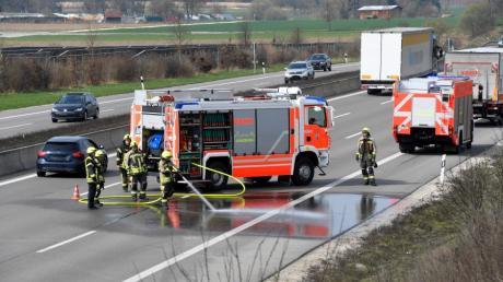 Die Unfälle auf der A8 nehmen aufgrund des steigenden Verkehrsaufkommens zu.